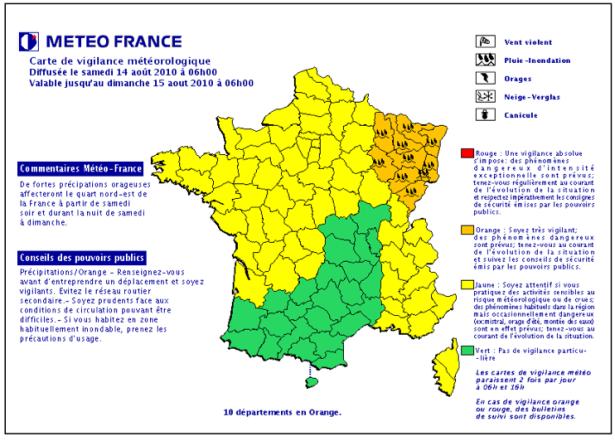 carte-vigilance-météo-france