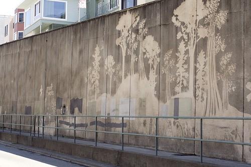 graffiti inversé
